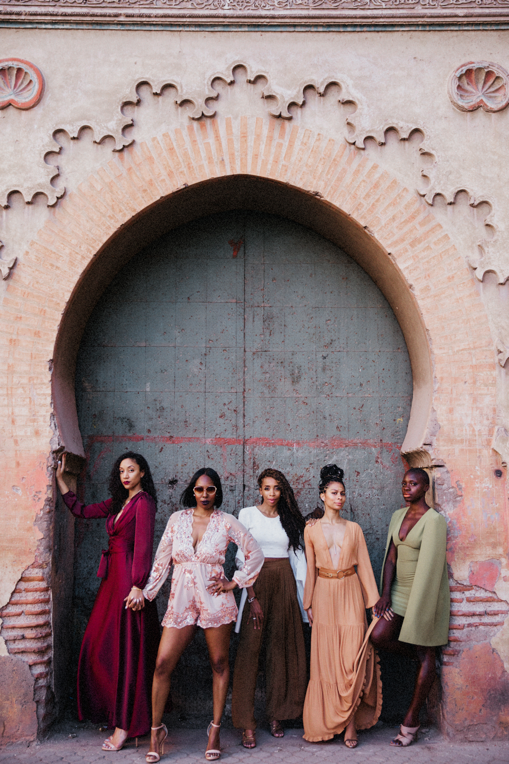 Marrakech, Morocco. 2017.   I LOVE connecting people. A few of these ladies didn't know each other before the trip but left as friends.
