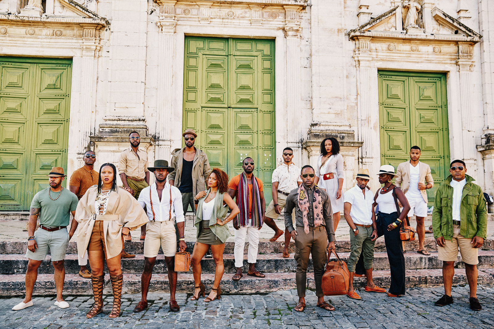 Salvador de Bahia, 2016.  Many slaves were auctioned in this square. We stand strong and proud in rememberance.
