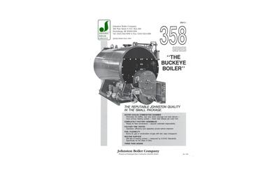 Johnston Boiler 358 Series Boiler