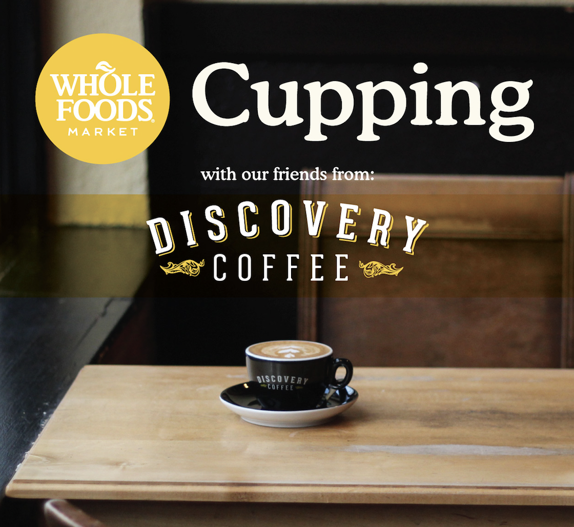 The Uptown Discovery Coffee location is co-hosting a workshop with Whole Foods!  We hand select our green beans from farmers all over the world and roast them in-house, at their freshest. By roasting in small batches and pairing beans to specific brew methods, we introduce our customers to new coffees and unique brews every day. We are always finding ways to push the boundaries on what good coffee can offer, progressively educating our staff, and in turn, our customers. We are excited to be an integral part of growing an already flourishing coffee scene in Victoria, BC.