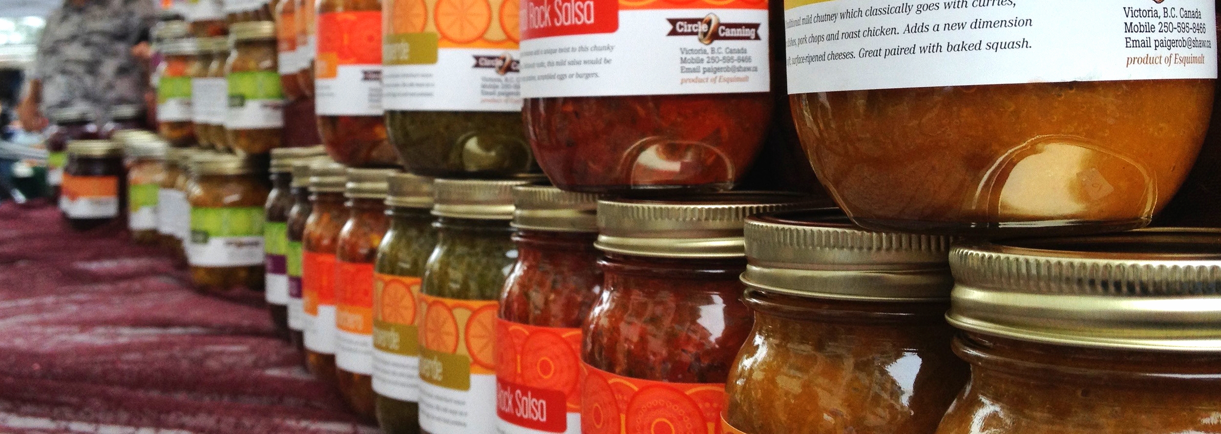 Circle Canning is donating 3 jars of amazing preserves to our speakers!