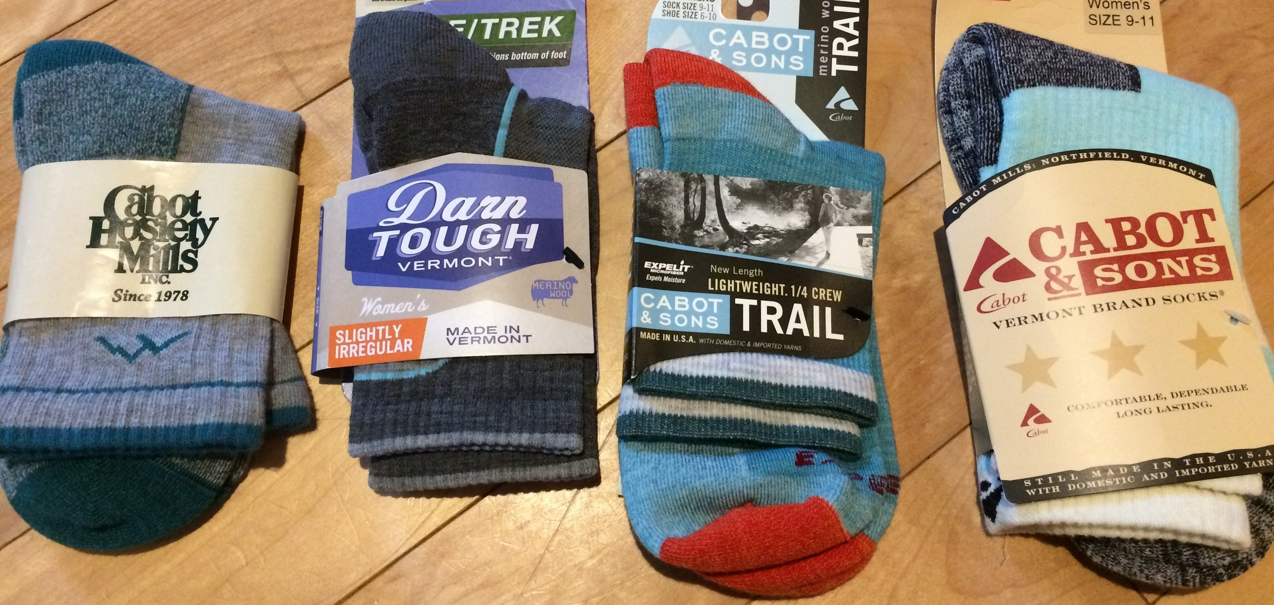 My purchases at the sock sale this year