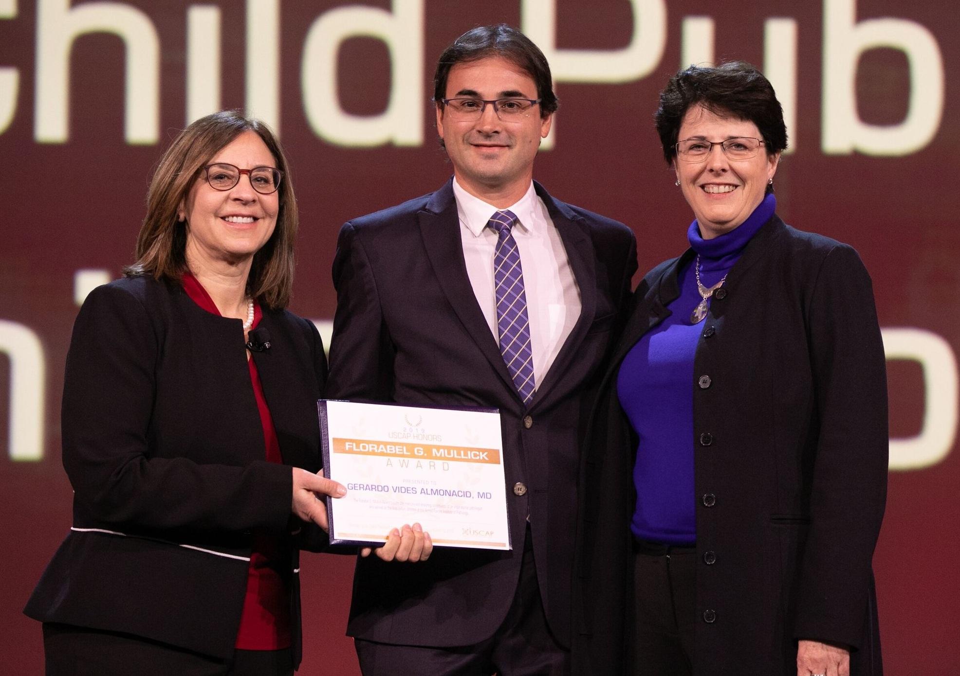 Gerardo Vides Almonacid, MD   2019 Awardee of the Florabel G. Mullick Award