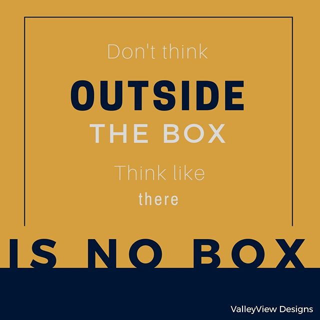 Discovery consists of looking at the same thing as everyone else and thinking something completely different. Get rid of that box today and see what comes your way. . . . #inspiration #designinspiration #coloroutsidethelines #noconstraints #thinkoutsidethebox #thereisnobox