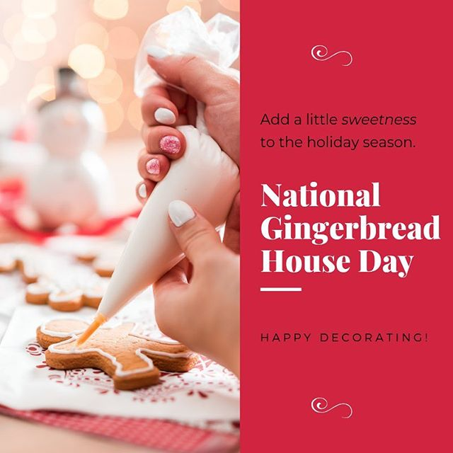 "Ah, gingerbread. Is there really any other scent so warm, comforting and synonymous with ""the holidays are approaching""? . . . #nationalgingerbreadhouseday #gingerbreadhouse #gingerbreadcookies #holidaysareapproaching"