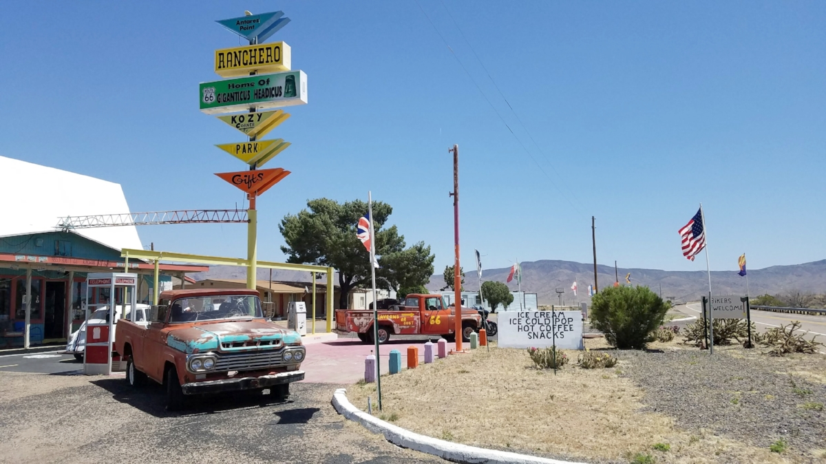 An Arizona road trip on historic Route 66 is full of quirky roadside stops.