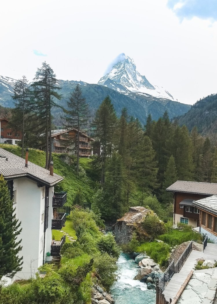 The pointy Matterhorn is one of the most beautiful places in Switzerland, and one of the most famous.