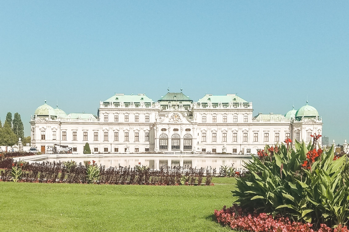 Vienna's Belvedere palace is just one of many grand imperial sights in the Austrian capital, one of the grand cities covered in this 7-day Central Europe itinerary to Prague, Vienna, Budapest and Bratislava.