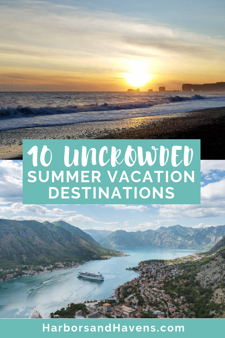 Get ready for summer with these ideas for vacations all over the world. From islands to cities and everywhere in-between, these vacation ideas are light on crowds and heavy on fun. #Beachvacation #Summertravel #Summervacationactivities #vacationdestinations #Europe #USAvacation