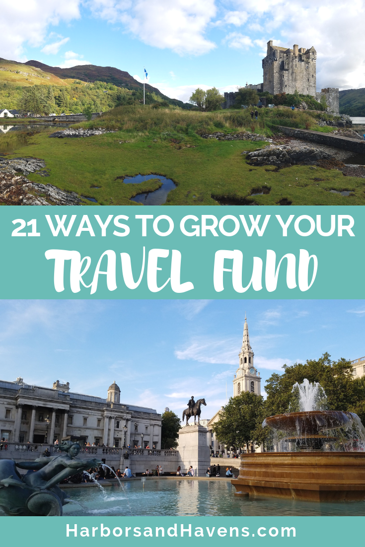 Bucket list travel experiences like glacier boat rides in Iceland and helicopter tours in Hawaii don't come cheap. So how do we travel to amazing places without going totally broke? Find ideas on how to cut back with these 21 things I don't spend money on to afford my travel habits instead. #Traveltips #travelhacks #Traveltheworld #Traveladvice #Budgettravel #travelbudget #travelbudgettips #vacationbudgettips