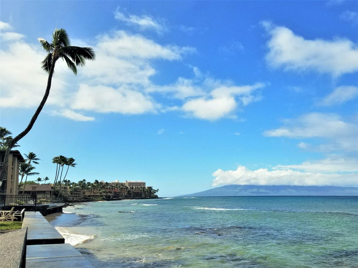 Wondering where to stay on Maui's west coast? Try this stretch of coastline in Kaanapali filled with hotels and condos.
