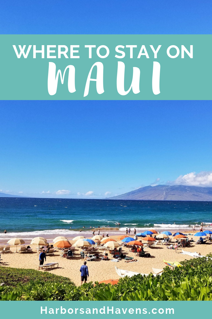 Looking for the best places to stay in Maui? This guide will introduce you to the different areas and types of hotels to pick from, including resorts with pools, Airbnbs, and condos. #Maui #Mauihawaii #Mauiaccommodations #Mauicondos #Mauibeachhotel