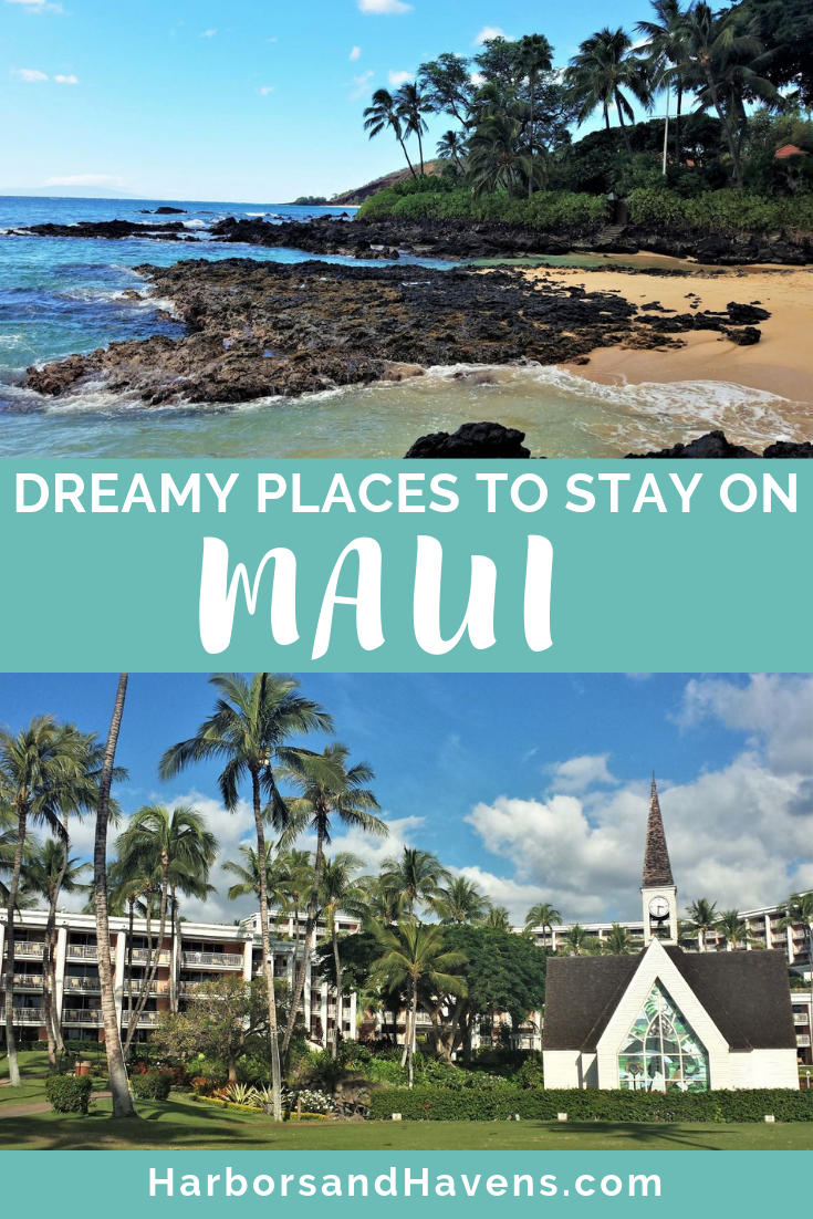 Figure out where to stay on Maui with this guide to the best neighborhoods and types of accommodations. We cover everything from romantic honeymoon destinations to family-friendly resorts. #Maui #Mauiresorts #Mauiguide #Mauiwheretostay #Mauihoneymoon
