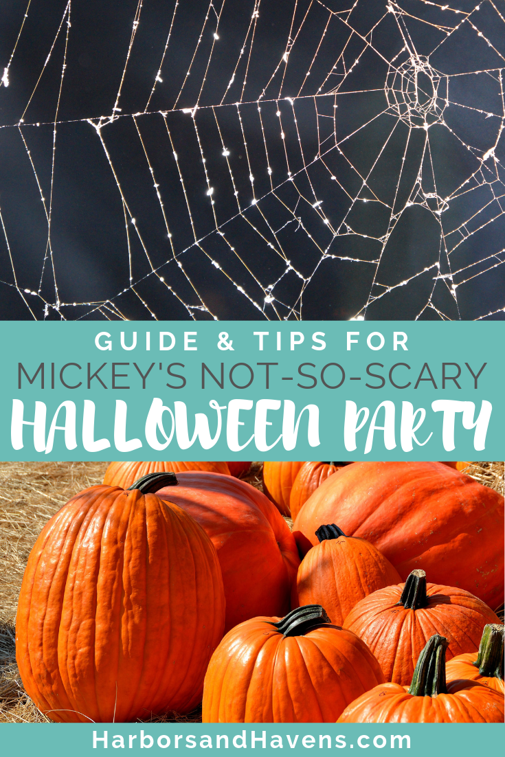 Mickey's Not-So-Scary Halloween Party at Disney's Magic Kingdom is full of parades, candy and costumed characters. These tips will help you make the most of your time at the annual Halloween event at Disney World.  #MagicKingdom #DisneyHalloween #Halloweenevent