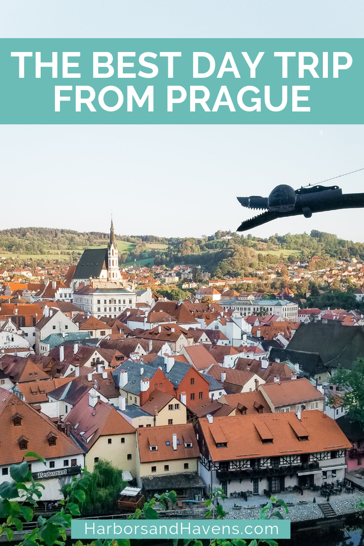 Thinking of a Cesky Krumlov day trip from Prague? We'll break down the different options, including guided tours and the Prague to Cesky Krumlov train and bus. #Czech Republic #CeskyKrumlov #CeskyKrumlovCzechReplublic #ceskykrumlovthingstodo #ceskykrumlovtown #ceskykrumlovtravel #ceskykrumlovphotos #ceskykrumlovbohemian #CeskyKrumlovdaytrip #europetrip #europedestinations