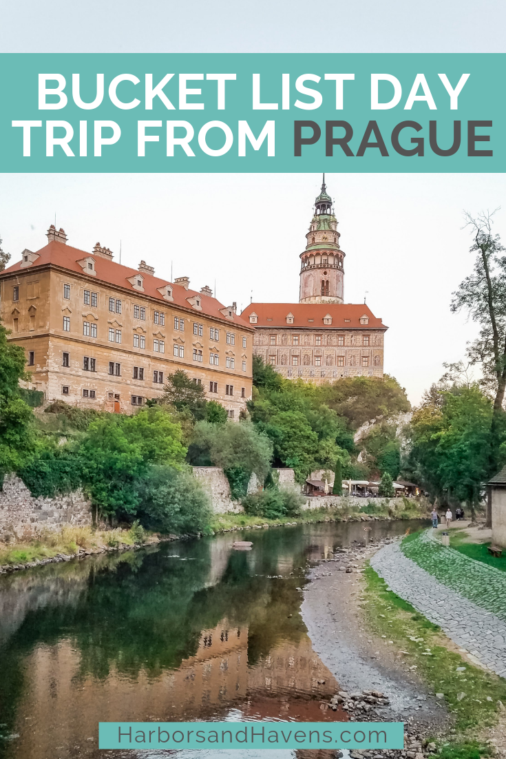 Thinking of a day trip from Prague or Vienna to Cesky Krumlov? We break down all the ways to get to this charming town on day trips and on buses and trains.  #CeskyKrumlov #CeskyKrumlovCzechReplublic #ceskykrumlovthingstodo #ceskykrumlovcastle #ceskykrumlovtravel #ceskykrumlovphotography #ceskykrumlovbohemian #CeskyKrumlovstreet #CeskyKrumlovdaytrip #europevacation #europetravelideas