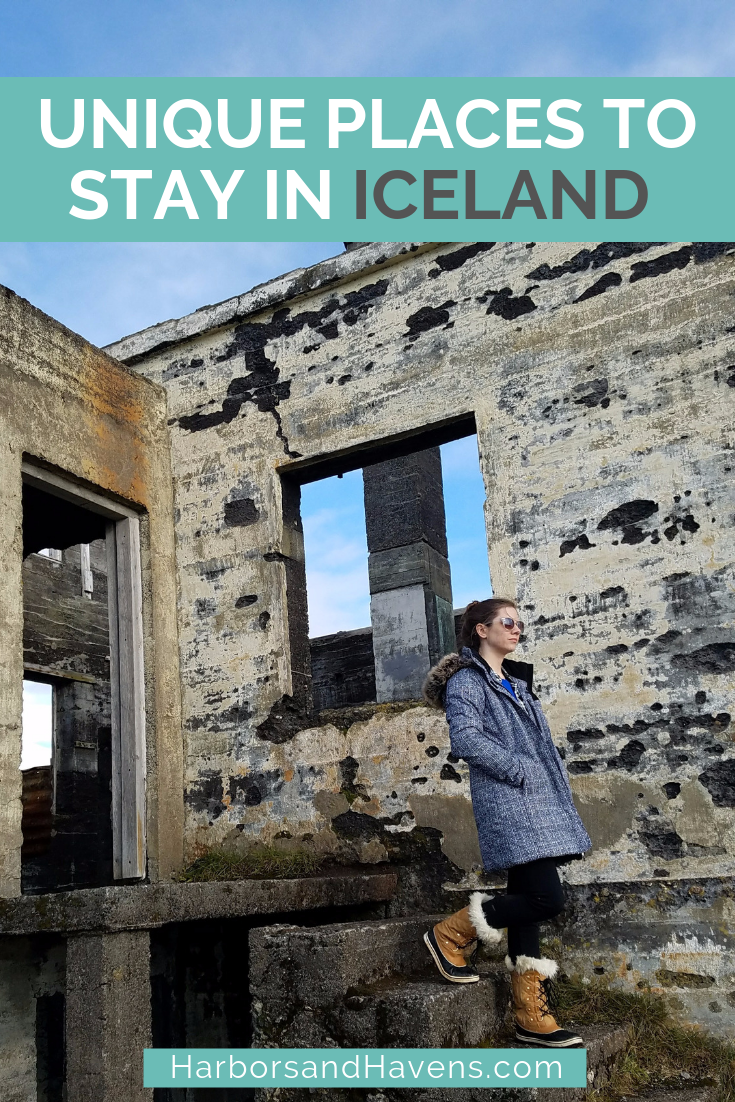 These unique places to stay in Iceland include lakefront cabins and guesthouses with views of the Northern Lights. Where to stay in Iceland | Iceland vacation | Iceland travel | Iceland travel tips | Iceland bucket list | Iceland cabin | Iceland hostel | Iceland hotel #Iceland #icelandhotels