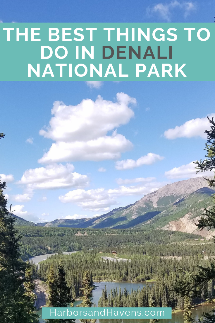 Wondering what to see in Denali on your first visit? This guide is full of things to do in Denali National Park, from hikes to tours to mushing. USA #Alaska #Denali #DenaliNationalPark | What to do in Denali | Where to go in Denali | Denali National Park things to do | Tips for Denali National Park | Hiking in Denali National Park | Denali bucket list