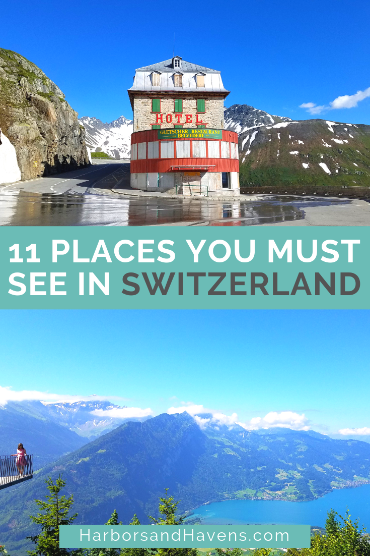 Looking for the most beautiful places in Switzerland? These stunning spots are along the mountains, quiet valleys and emerald lakes of Switzerland. #Switzerland #Switzerlandtravel | Switzerland travel spring | Switzerland travel tips | Switzerland travel Alps | Where to go in Switzerland | Switzerland travel amazing places | Switzerland things to do | Switzerland travel summer | Switzerland travel interlaken | Switzerland mountains