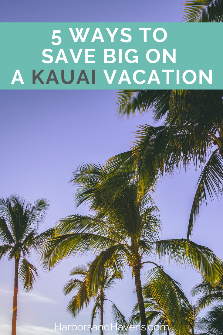 If you're looking for ways to save big on a Hawaii vacation, this guide full of Kauai budget tips will help you spend less and enjoy more! USA | Hawaii budget travel | Hawaii budget trip | Hawaii budget vacation | Hawaii budget Kauai | Kauai budget #Kauaibudget #Kauaihawaii