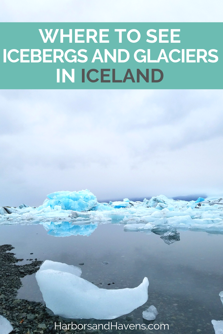 Iceland's Jokulsarlon Glacier Lagoon and Diamond Beach should be on your bucket list. You can see this epic lake full of icebergs on a boat tour. #Iceland #Jokulsarlon | Jokulsarlon glacier boat ride | Jokulsarlon Iceland | Jokulsarlon glacier lagoon tour | Jokulsarlon Iceland travel