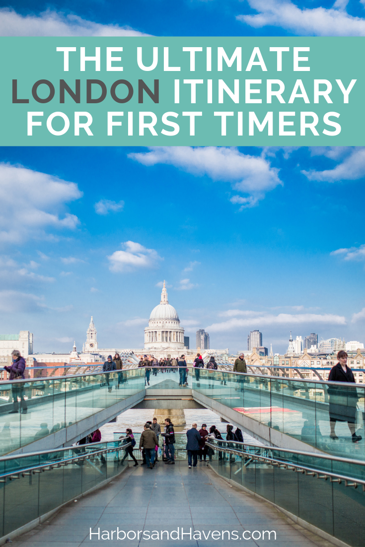 Looking for things to do in London for your first visit? This London itinerary covers all the top sights in the city, including museums, castles and entertainment. #London | London itinerary 4 days | London travel tips | London travel first time | London travel guide | Visit London England | London attractions