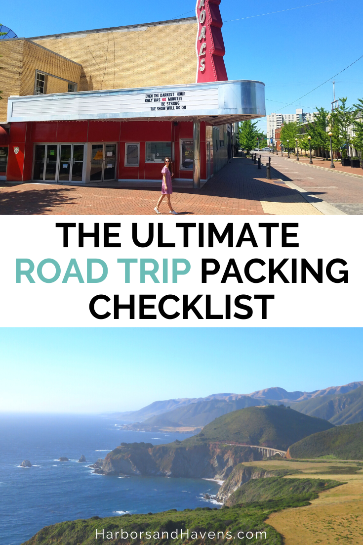 50 Of The Best Road Trip Packing List Essentials This Year Free Checklist Harbors Havens