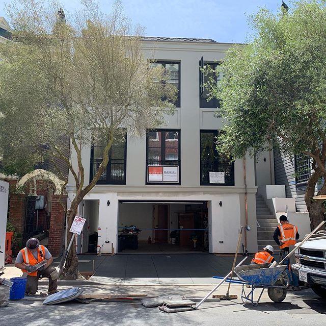 A sunny San Francisco sidewalk  #sanfrancisco #remodel #contractor