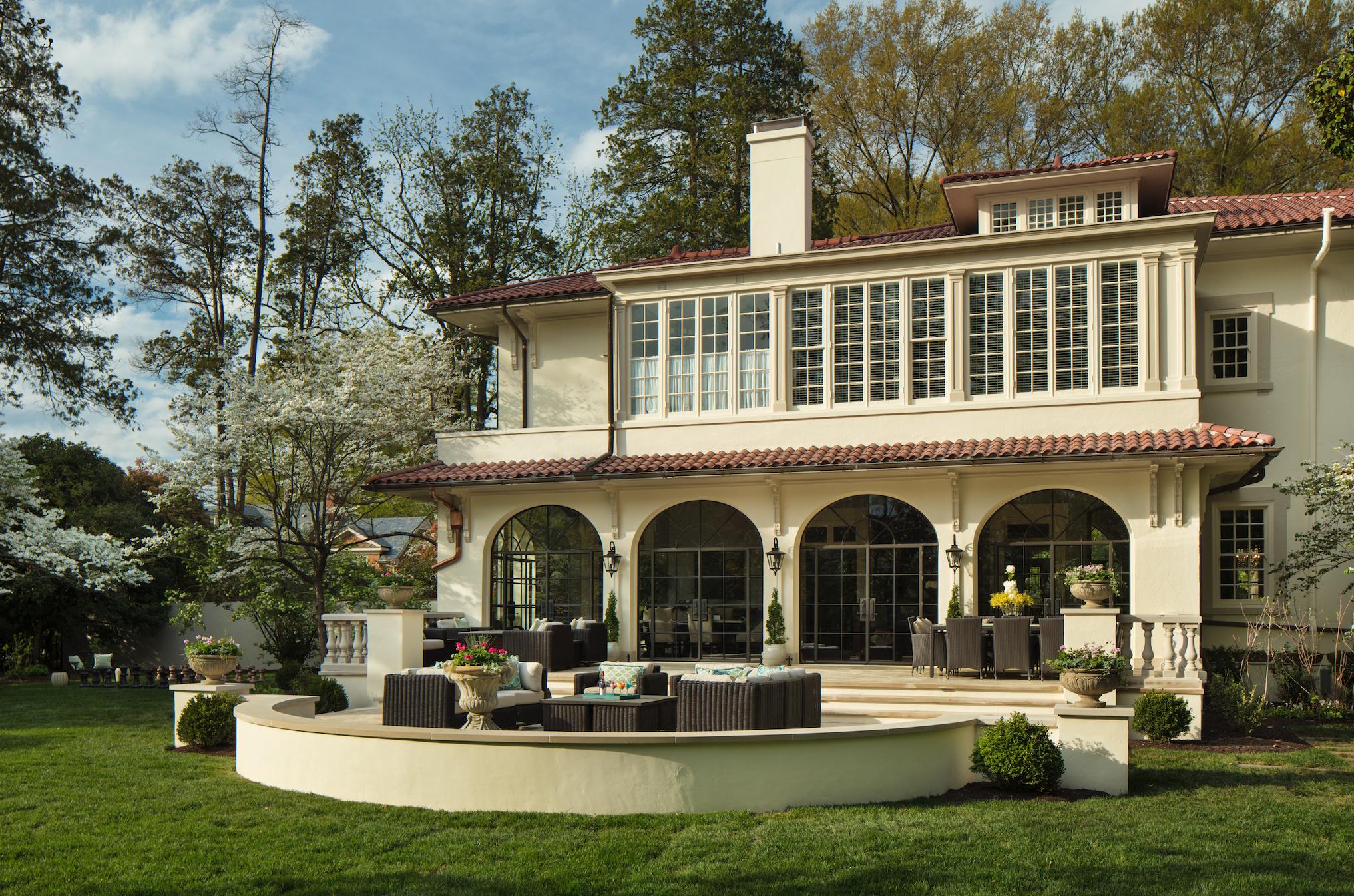 Marcia Fryer Landscape Designs | Baskerville Designed Mediterranean Inspired Home | Steel windows | Outdoor Dining | AFTER.png