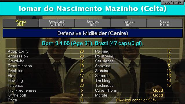 Mazinho CM2 Profile courtesy of  @cm9798