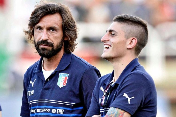 Pirlo isn't impressed…