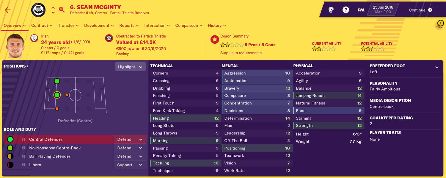 Dubbed the next  ' The Football Manager Crystal Ball