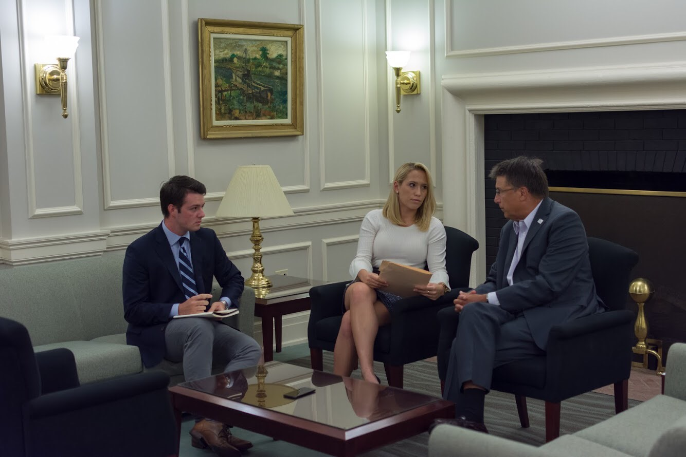 Former Governor Pat McCrory sits down with CPR Editors Kirk Kovach and Sydney Persing