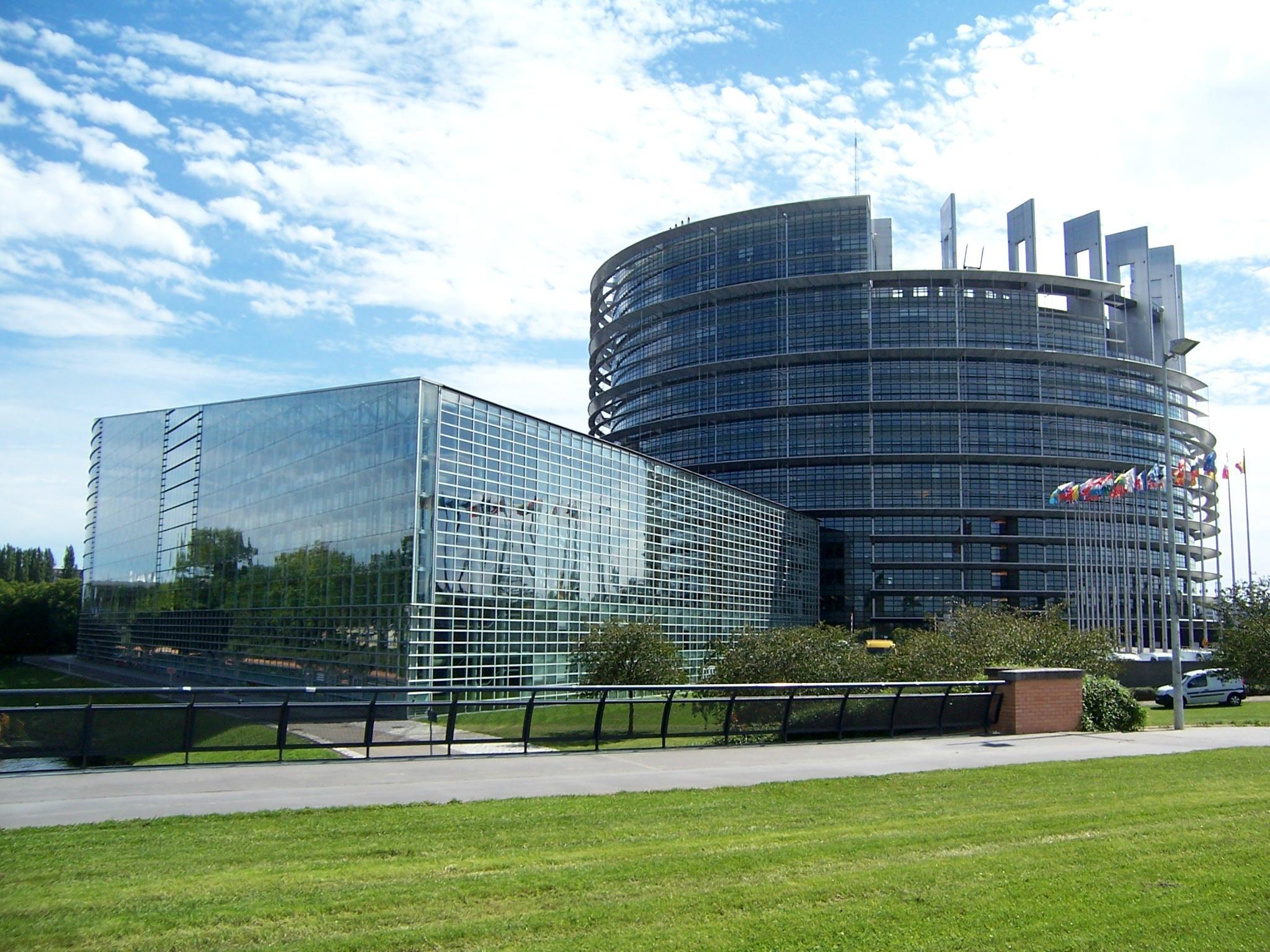 The European Parliament in Brussels, Belgium ( source )