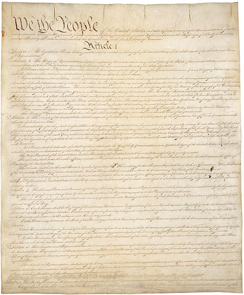 The United States Constitution ( source )