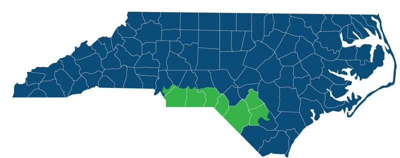 North Carolina's 9th Congressional District ( source )