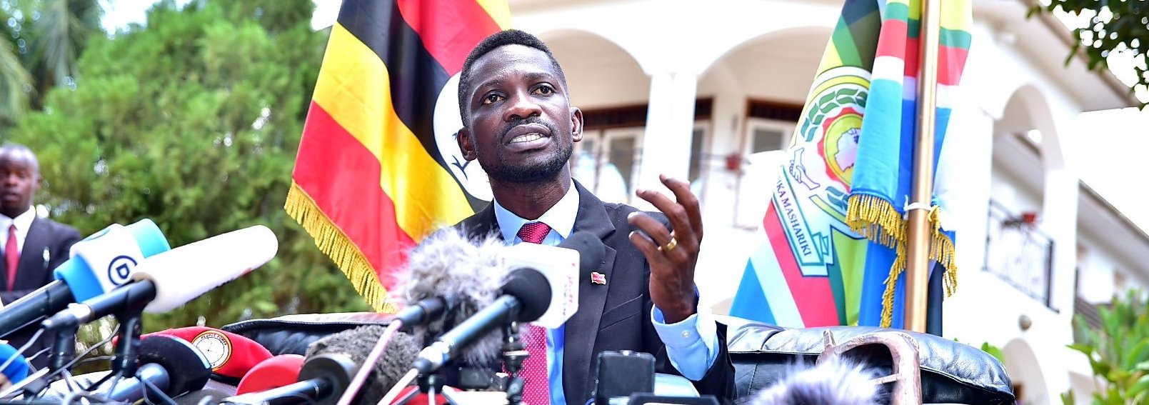 Ugandan MP Bobi Wine ( source )
