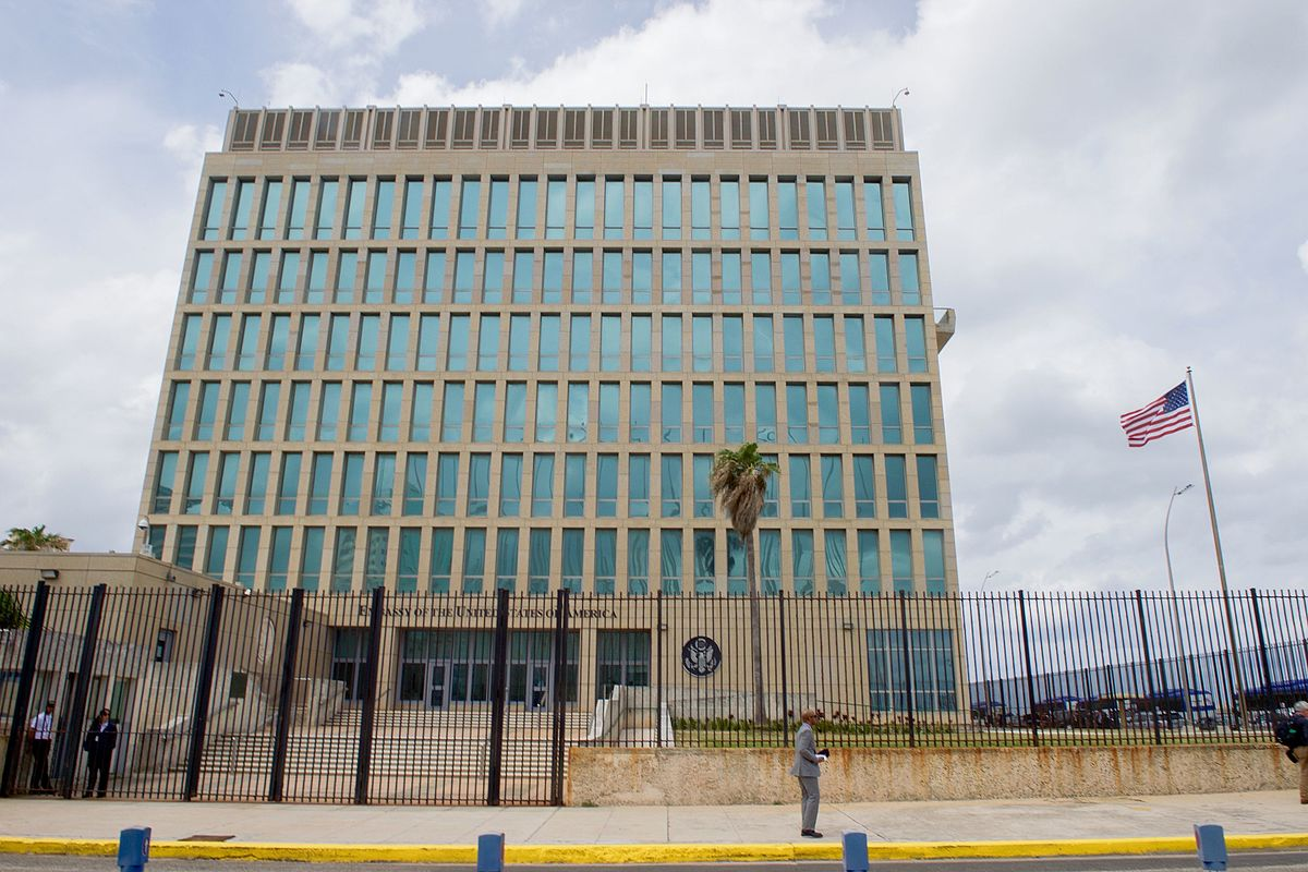 The United States Embassy in Havana, Cuba ( source )