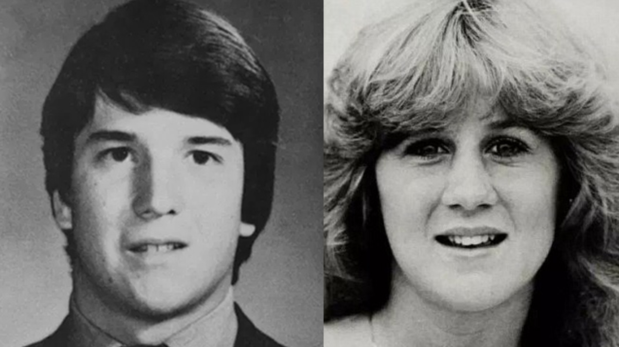 Kavanaugh and Blasey Ford's yearbook photos taken in the early 1980s ( source )