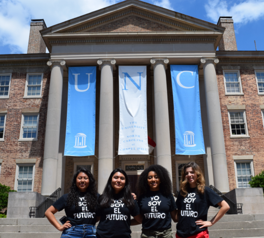 An image taken from a university website page describing the Latinx Mentoring Program ( source )