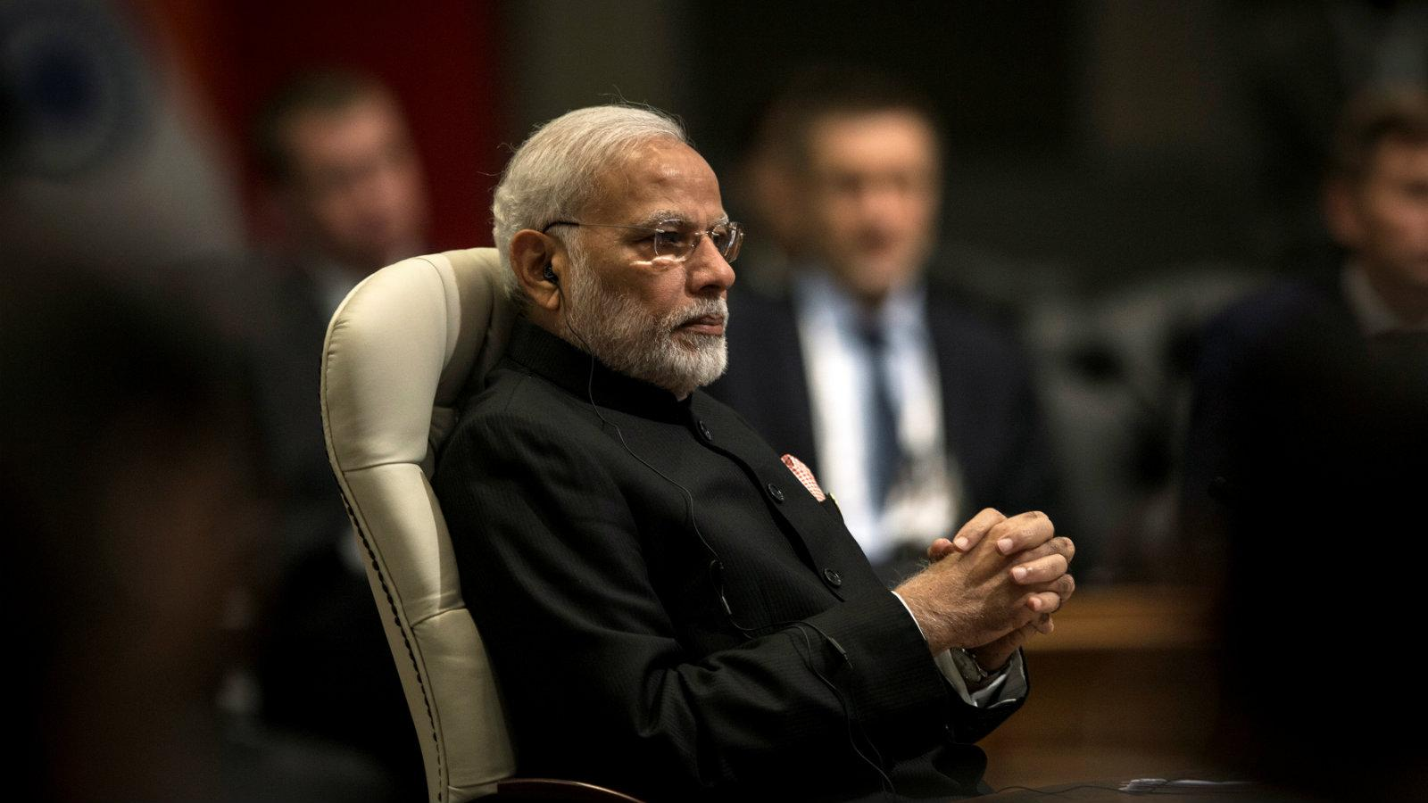 Prime Minister of India Narendra Modi, who has served since 2014 and is running for reelection next year ( Image )