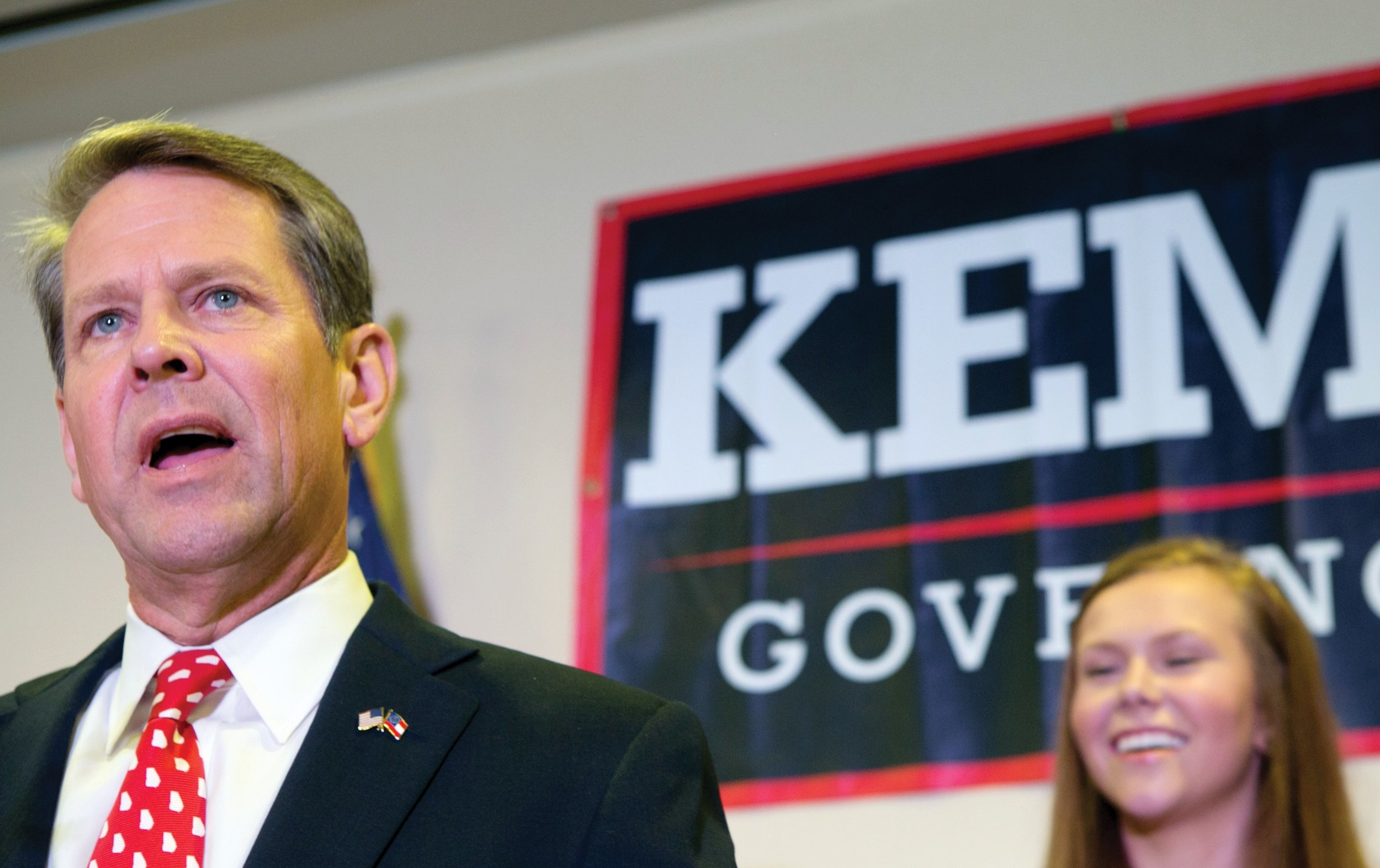 Georgia Secretary of State and gubernatorial candidate Brian Kemp ( Image )