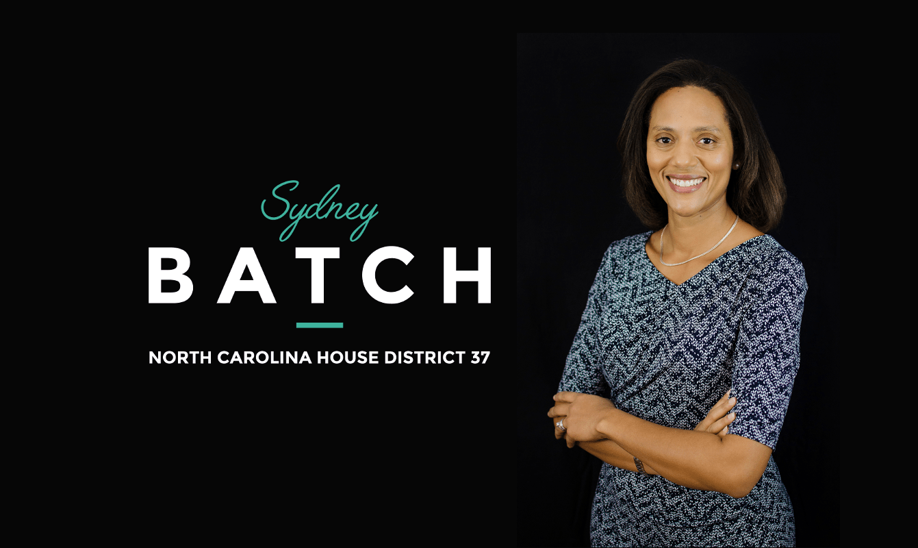 A campaign graphic from the website of Sydney Batch, an NC House candidate ( Image )
