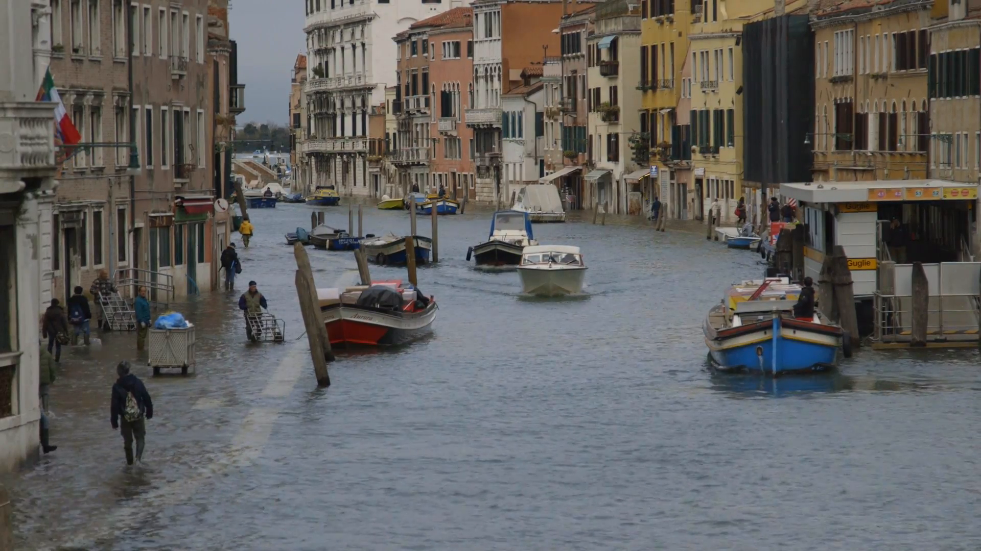 Flooding in Venice and Sicily has devastated the historic Italian cities ( Image )