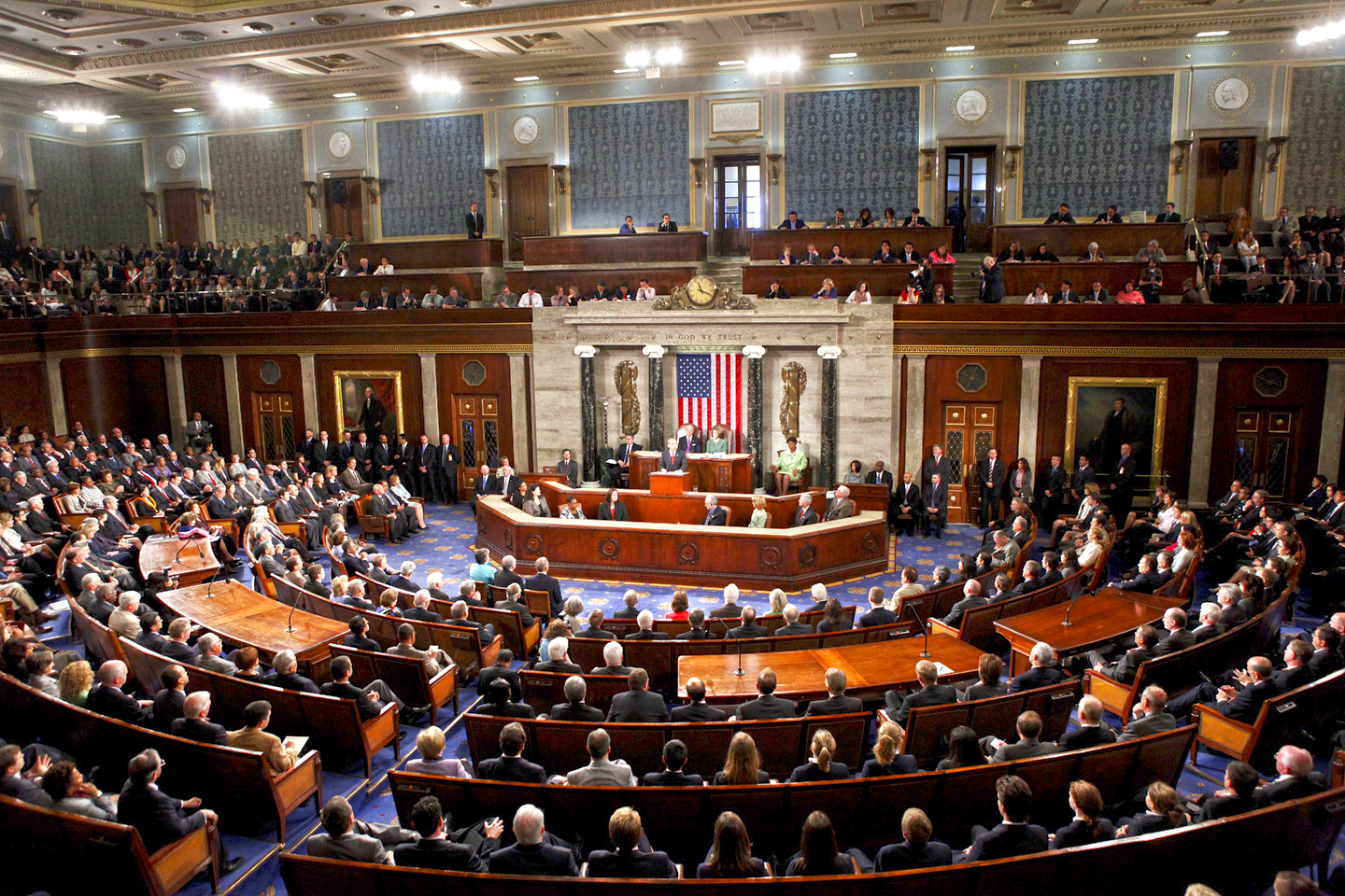 The United States Congress convenes during the 112th session in 2012 ( Image )