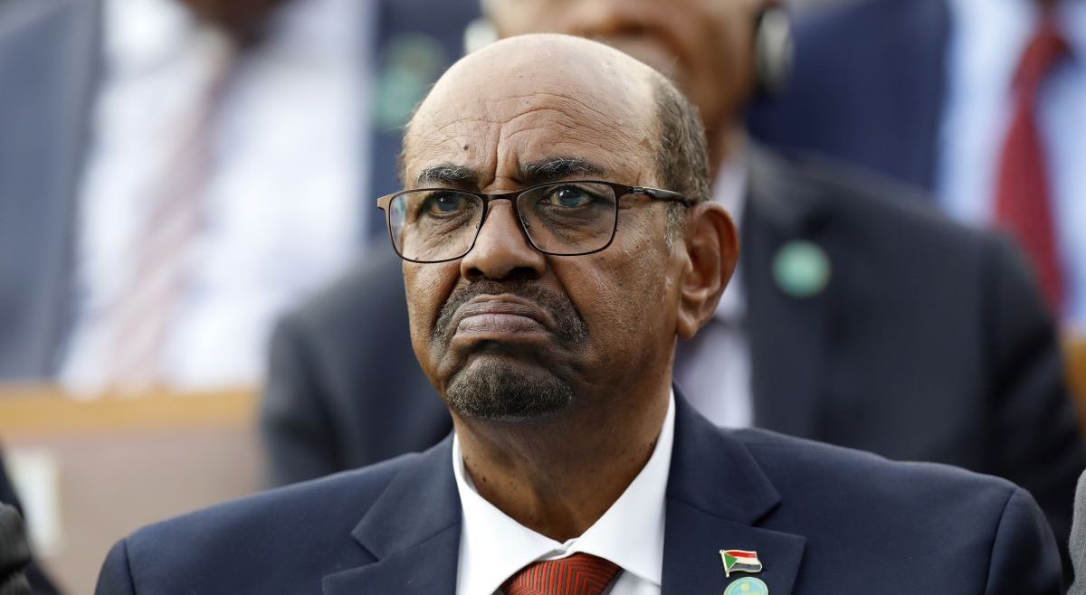 Now-deposed President of Sudan Omar al-Bashir, who was overthrown and arrested last week ( Image )