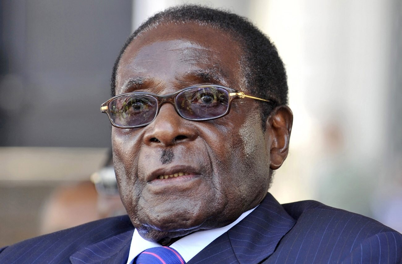 Former Zimbabwean President Robert Mugabe, who died in September, leaves behind a complicated legacy ( image )