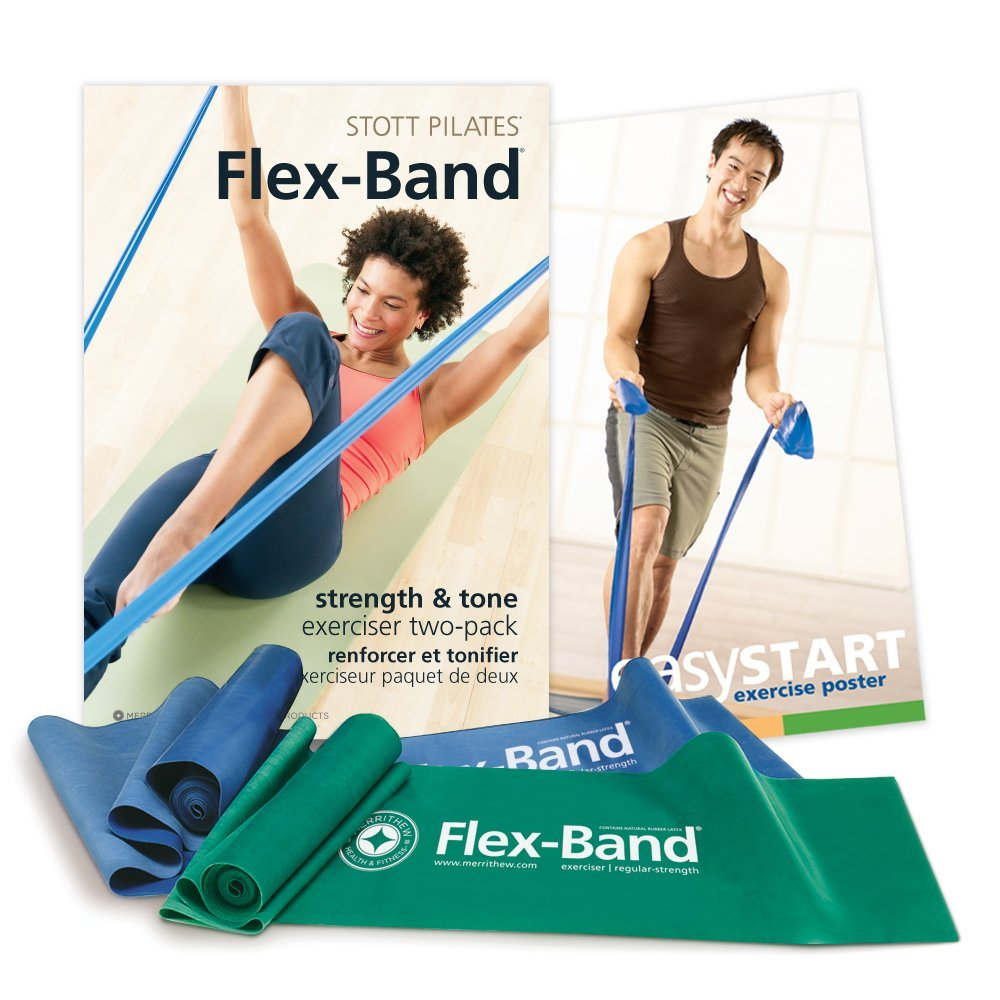Flex-Bands to s-t-r-e-t-c-h it out!