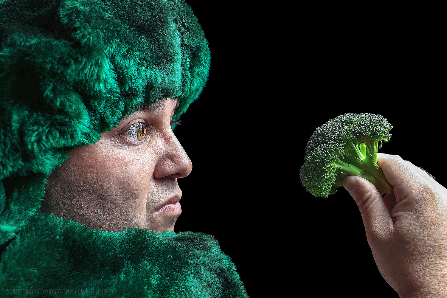 Man Vs. Broccoli