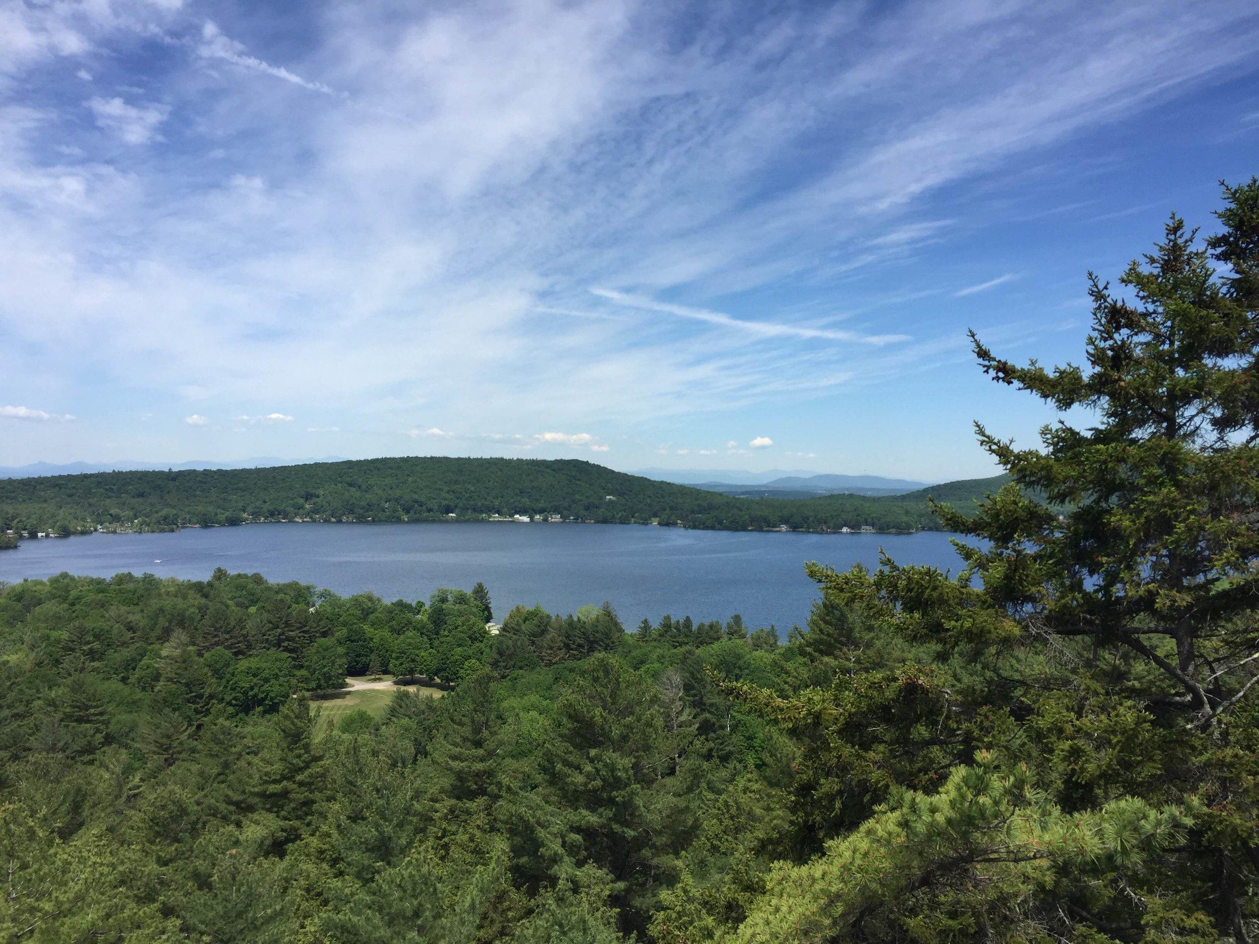 View of Lake Dunmore